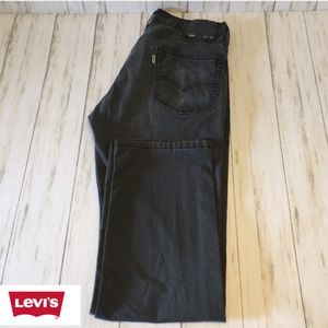 Levi's 514 Charcoal Black. Size 32/30
